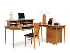 Home Offices-solid hardwood home office furniture