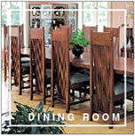 Frank Lloyd Wright® Furniture by Copeland :: Dining Room Collection